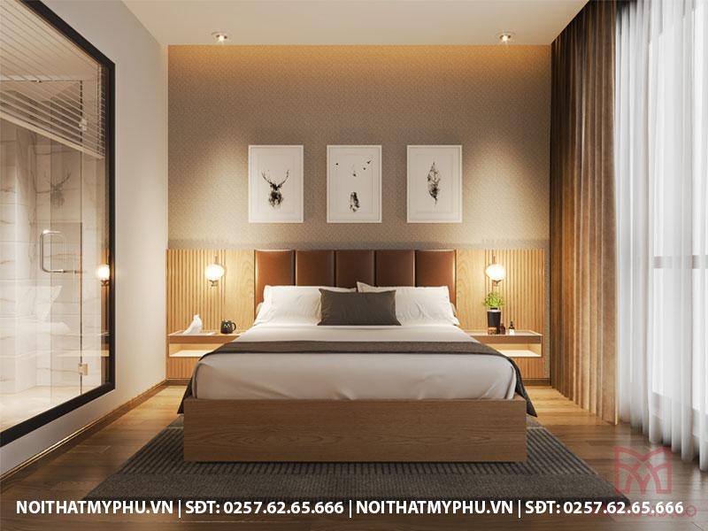 trang trí nội thất khách sạn trần phú