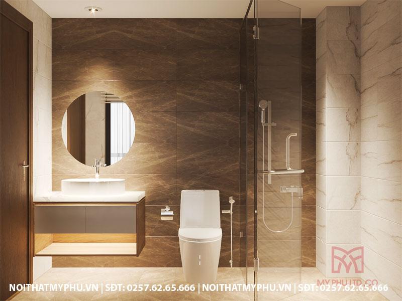 mẫu phòng tắm đẹp tại khách sạn trần phú