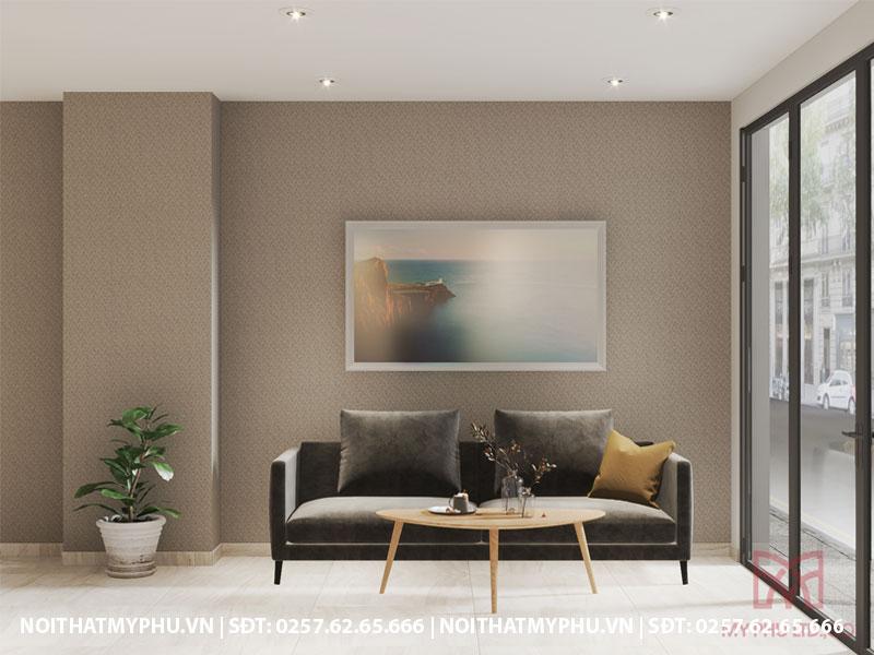 trang trí bộ ghế sofa cho khách sạn trần phú