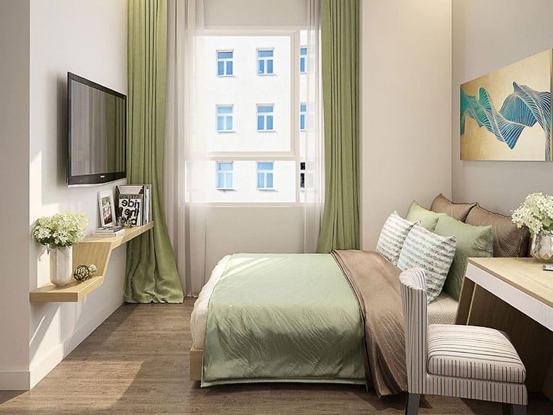 Phòng ngủ hiện đại tại Căn Hộ Lexington