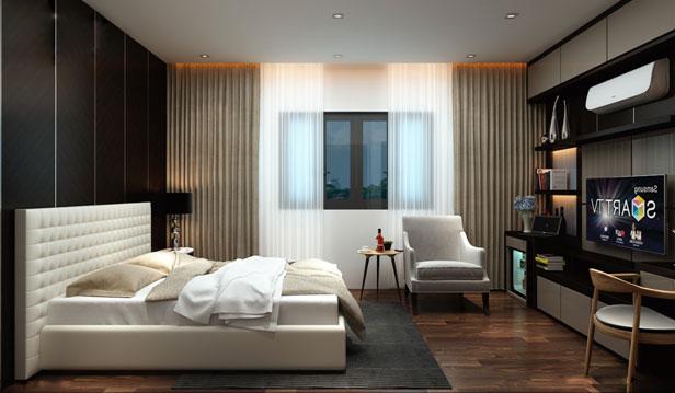 thiết kế nội thất nhà phố theo ánh sáng
