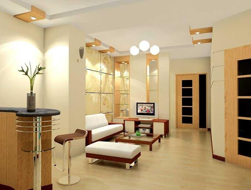 thiết kế nội thất theo chất liệu, vật liệu gỗ