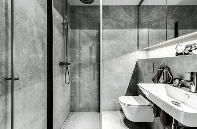 trang trí nội thất phòng tắm 30m2
