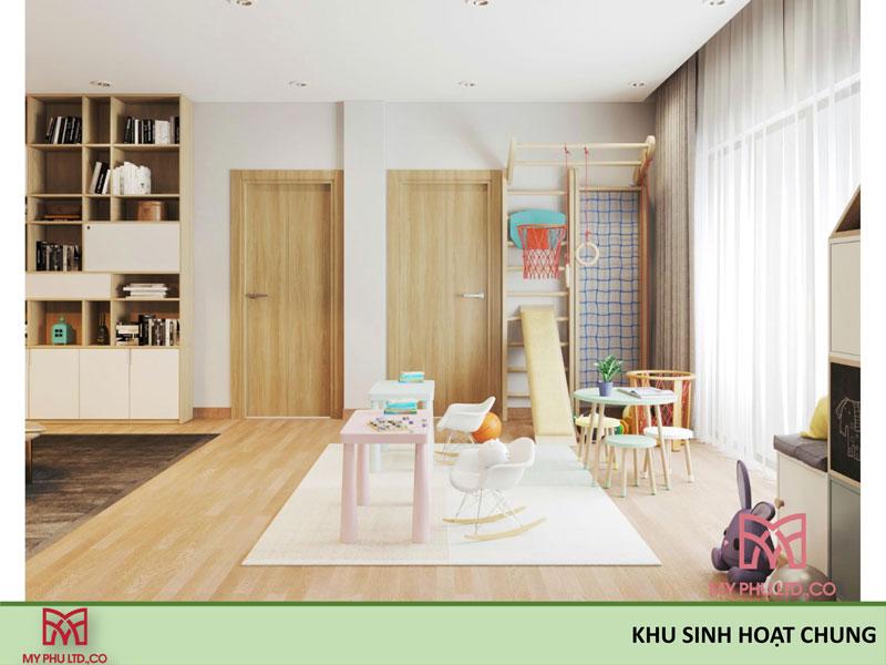 Khu Sinh Hoạt Chung nhà chị hải
