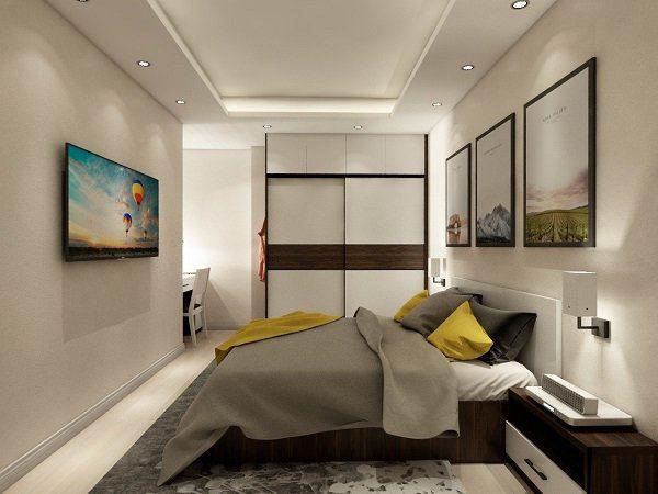 chung cư 70m2 2 phòng ngủ