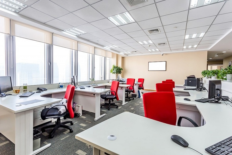 mẫu thiết kế văn phòng công ty