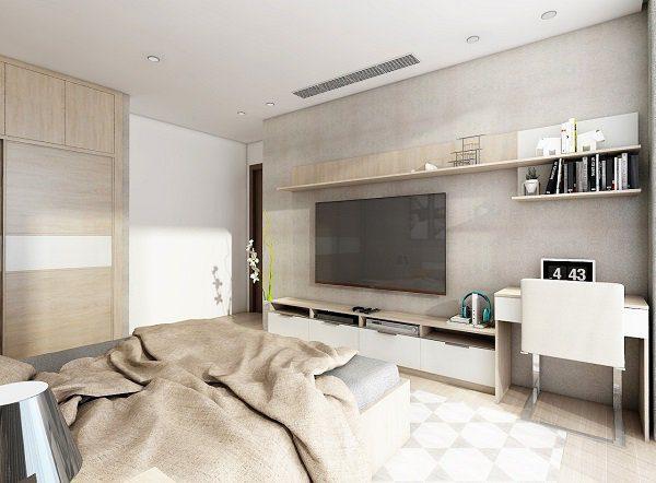 nội thất chung cư 2 phòng ngủ 70m2