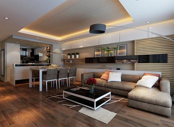 thiết kế chung cư 70m2 đẹp