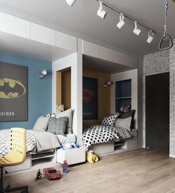 Thiết kế phòng ngủ dành cho trẻ