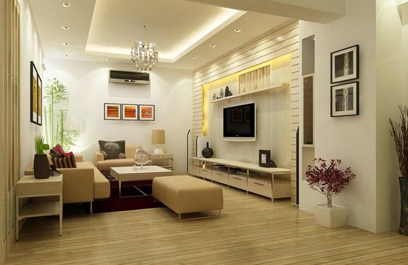 thiết kế nội thất phòng khách 10m2