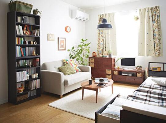 thiết kế phòng khách nhỏ 12m2