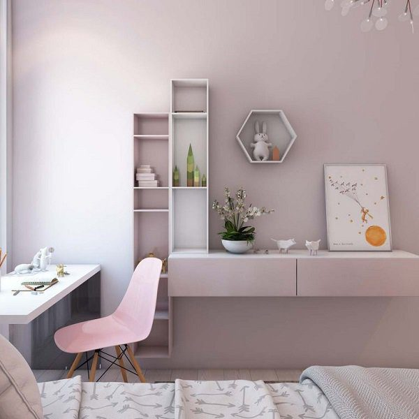 trang trí nội thất nhà chung cư 70m2