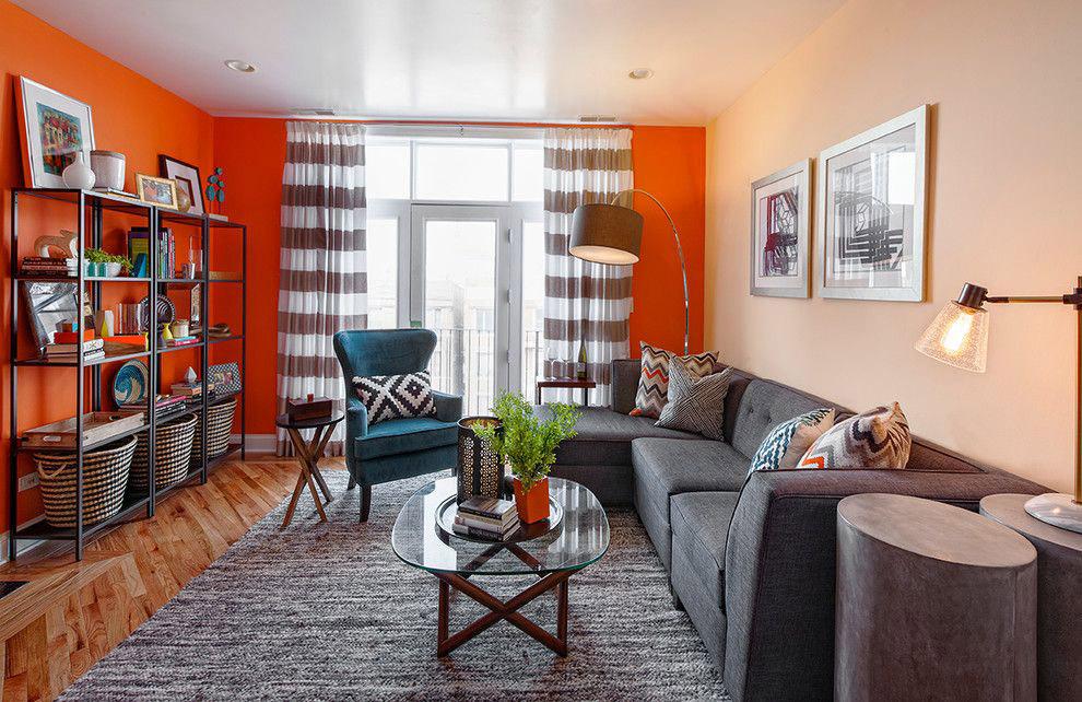 Lựa chọn màu sắc ánh sáng cho phòng khách 18m2
