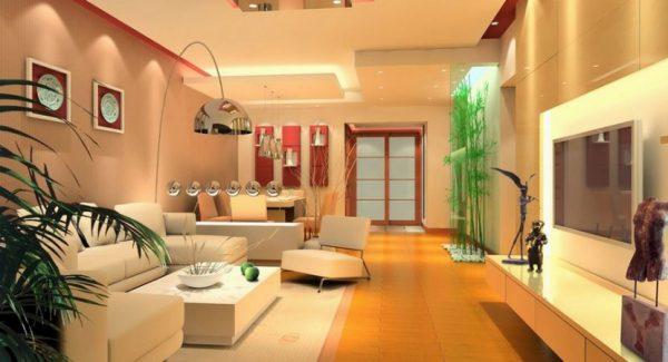 mẫu trang trí nội thất phòng khách nhà cấp 4