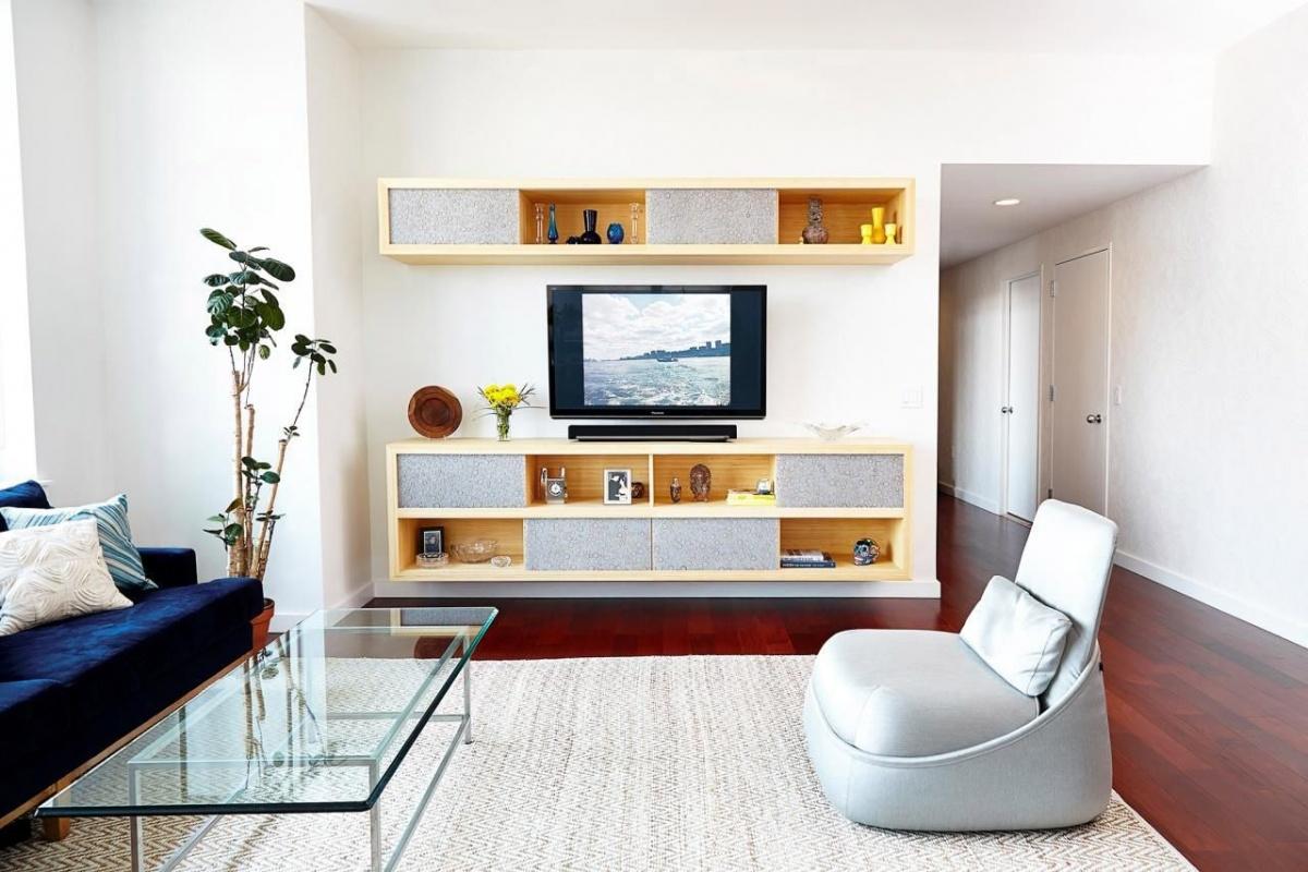 Sắp xếp đồ nội thất phòng khách 18m2 hợp lý