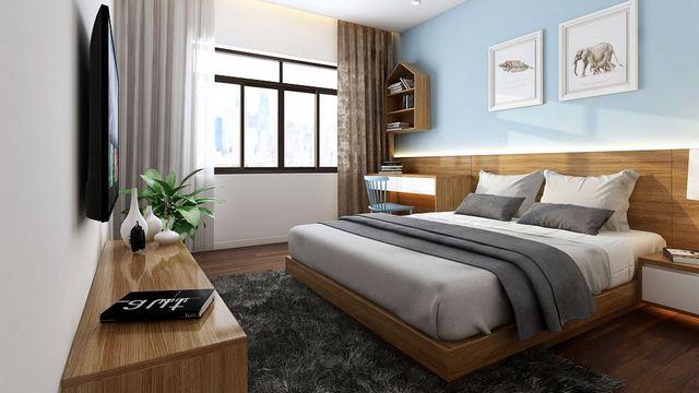 Thiết kế nội thất phòng ngủ cho bé trai tại Chung cư 90m2