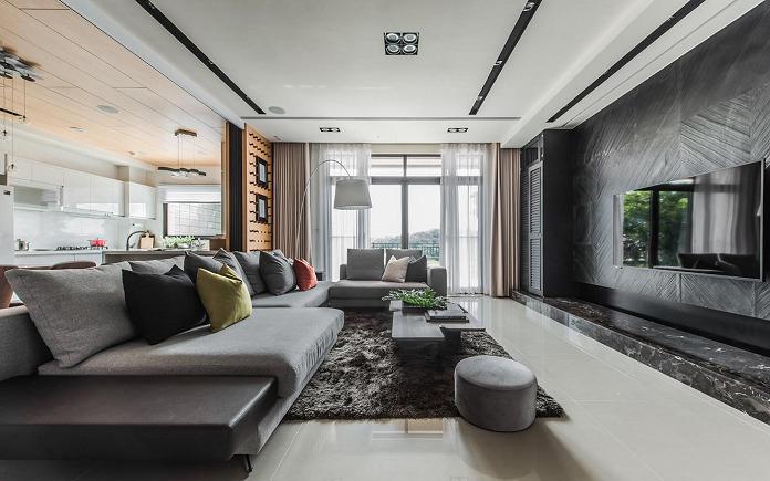 xu hướng thiết kế nội thất Taiwan