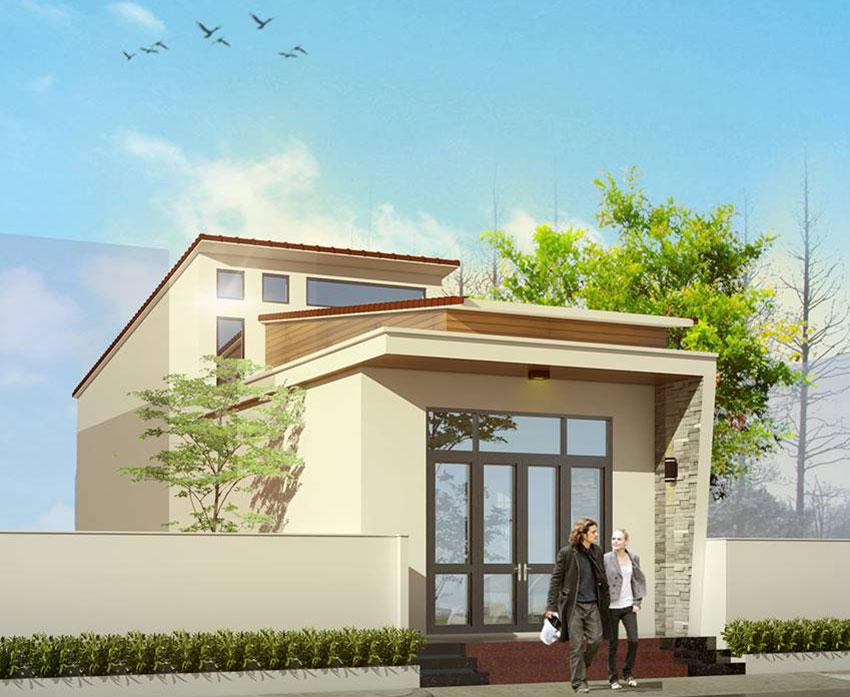 đơn giá xây nhà cấp 4 gác lửng mái tôn