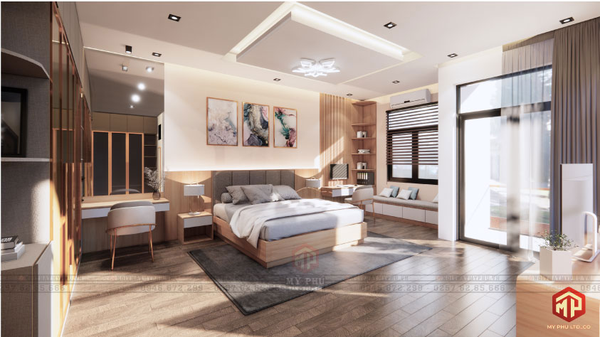 Phòng ngủ Master phú yên