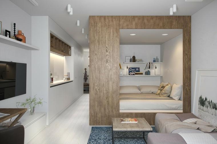 phòng ngủ chung cư 30m2