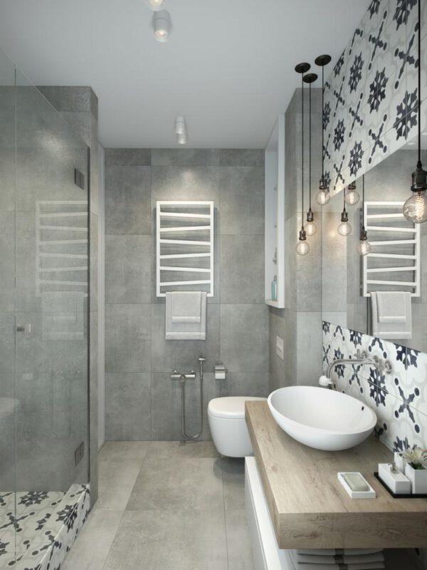 phòng tắm chung cư 30m2